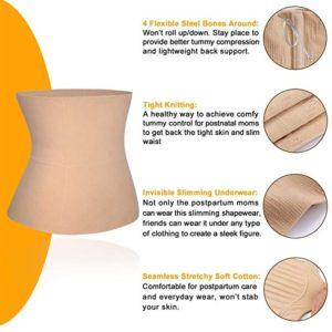 BRABIC-Seamless-Postpartum-Belly-Band-Wrap-flexible-waist-